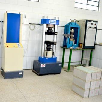 Laboratório para testes de qualiadde